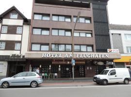 Hotel Am Flughafen, отель рядом с аэропортом Аэропорт Кёльн/Бонн - CGN