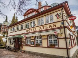 Hotel Atlas, отель в городе Пец-под-Снежкой