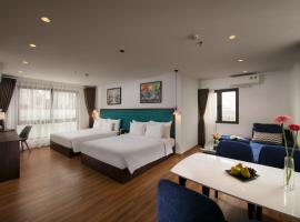 Babylon Garden Hotel & Spa, family hotel in Hanoi