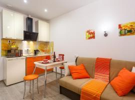 Apartment TwoPillows on Gorkogo, pet-friendly hotel in Korolëv