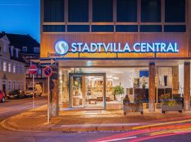 Hotel Stadtvilla Central, hotel in Schweinfurt