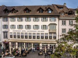 Hotel Kronenhof, hotel en Schaffhausen