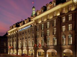 Hotel Schweizerhof Bern & Spa, отель в Берне