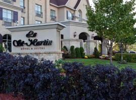 Le St-Martin Hotel & Suites, hotel near Sky Venture, Laval