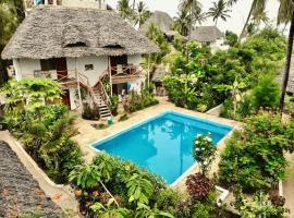 Miramont Retreat Zanzibar, hotel in Kilima Juu Pwani