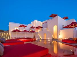 Art Hotel Santorini, hotel in zona Spiaggia Bianca, Pyrgos