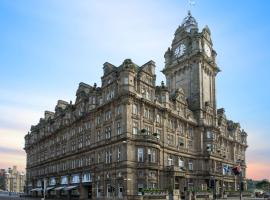 The Balmoral Hotel, pet-friendly hotel in Edinburgh