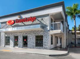 Econo Lodge at Raymond James Stadium, motel in Tampa