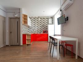 Delux apartment on Pobedy ave (Downtown), готель у Чернігові