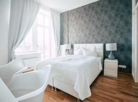 Luga Homes - Stadthaus, Ferienunterkunft in Leipzig