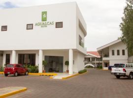 Hotel Agualcas, hotell nära Augusto Cesar Sandino internationella flygplats - MGA,