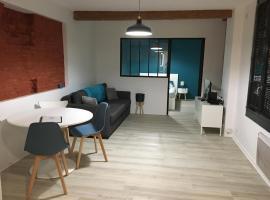 Apt Lombard Daurade Capitole, maison de vacances à Toulouse
