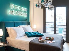 14 Reasons Why, hotel near Omonia Square, Athens