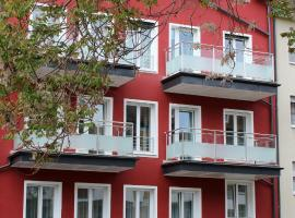 Deluxe Apartments Christina 120 m² im Design Hotel Vosteen, Ferienwohnung in Nürnberg