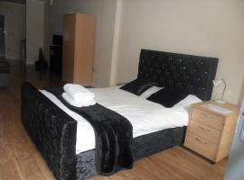 KG Short Stay Express Luxury Apartments, hotel in Leicester