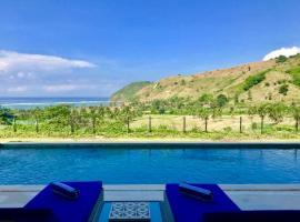 Villa K Lombok, hotel in Selong Belanak