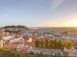 Luxury Graça House Amazing View of Lisbon, hotel di lusso a Lisbona
