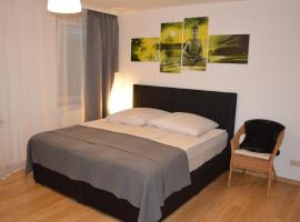 Modernes 1-Zimmer Apartment W-Lan, Stellplatz, hotel with parking in Nürnberg