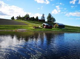 Skatauddens Lantgård, hotell nära Storforsen, Älvsbyn