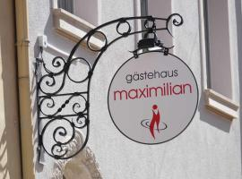 Maximilian, guest house in Speyer