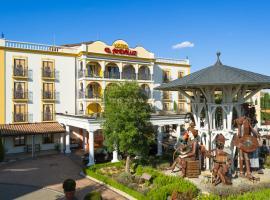 4-Sterne Erlebnishotel El Andaluz, Europa-Park Freizeitpark & Erlebnis-Resort, hotel in Rust