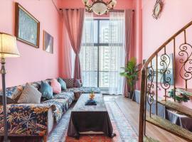 [Life Is Elsewhere] GZ Zhujiang New Town Loft Apartment, apartment in Guangzhou