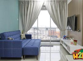 H2H - Love2Stay @Majestic Ipoh ( 7 Guests), apartment in Ipoh