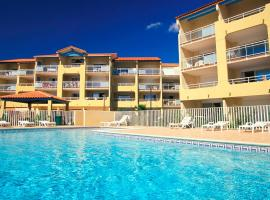 Résidence Vacancéole - Alizéa Beach, apartment in Valras-Plage