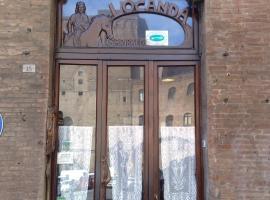 Albergo Locanda Garibaldi, отель в Сиене