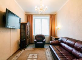 Двухкомнатная квартира на Киевской, отель в Москве, рядом находится Киевский вокзал