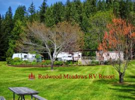 Redwood Meadows RV Resort, campground in Crescent City