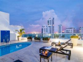 Travelers Orange Cartagena, serviced apartment in Cartagena de Indias