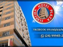 HOTEL PLAZA FERREIRA, hotel in Barra Mansa