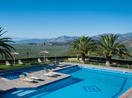 Chrissa Camping Rooms & Bungalows, hotel in Delphi