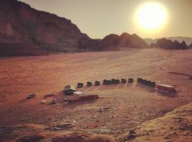 Wadi Rum Sky Tours & Camp, campground in Wadi Rum