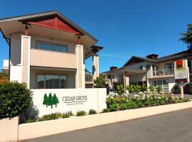 Cedar Grove Motor Lodge, motel in Nelson