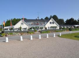 Hotel Fjordkroen, B&B in Tappernøje