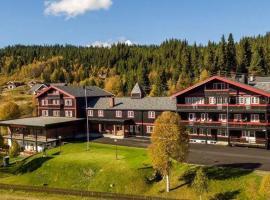 Hovda Valdres fjellhotell, hotell i nærheten av Hunderfossen familiepark i Tisleidalen