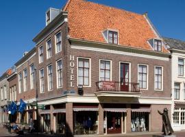 Fletcher Hotel De Zalm, hotel in Brielle