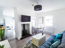 Central Stamford Townhouse With Parking, accommodation in Stamford
