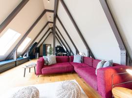 Linton Collection - The Attic Flat, budget hotel in Edinburgh