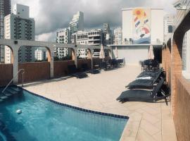 Atlantico Inn Apart Hotel, apartment in Santos