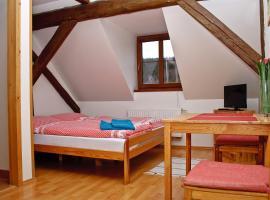 Penzion u Vodopádu, hotel poblíž významného místa Praděd, Karlova Studánka