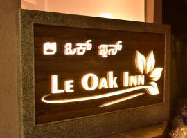 Le Oak Inn, accessible hotel in Mysore