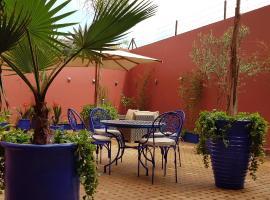 Appartement Centre Gueliz Hanane, hôtel à Marrakech près de: Gare de Marrakech