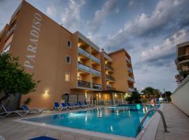 Hotel Paradiso, отель в городе Гроттаммаре