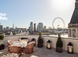 Corinthia London, hotel near Waterloo Station, London