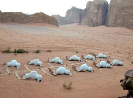 Wadi Rum Night Luxury Camp, campground in Wadi Rum