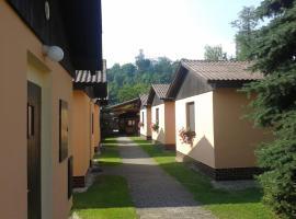 Sportcentrum Dvořák, hotel v Hluboké nad Vltavou