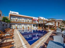 Akkan Beach Hotel, hotel in Bodrum City